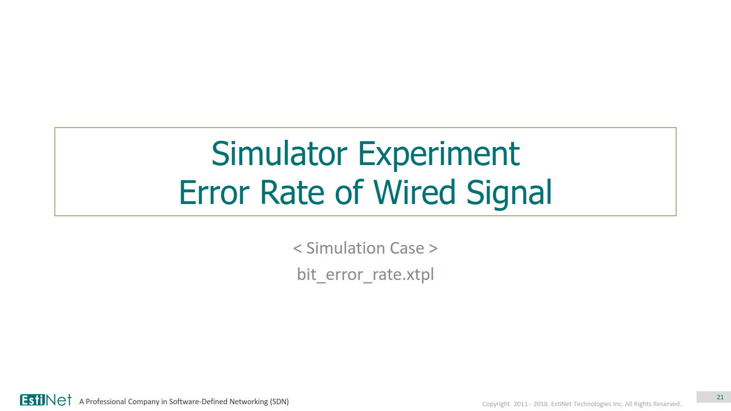 2. Simulator Experiment - Physical Layer_v1.1_20180713_21